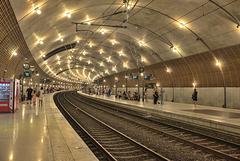 MONACO: La gare SNCF