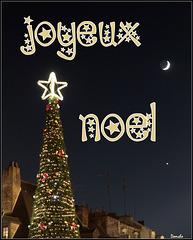 La carte de Noël