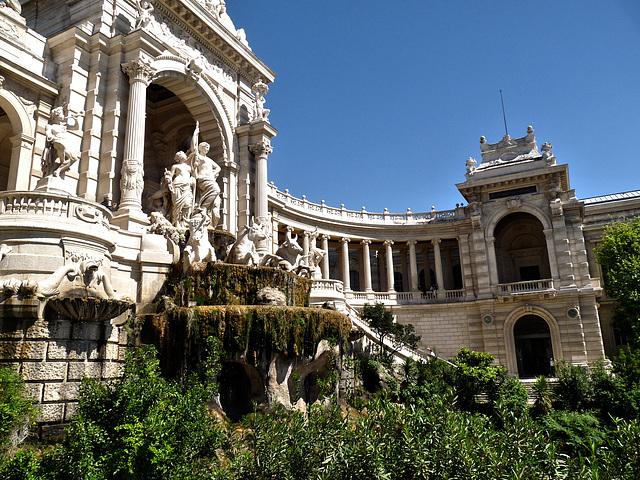 Le Palais Longchamp (Marseille - 13)