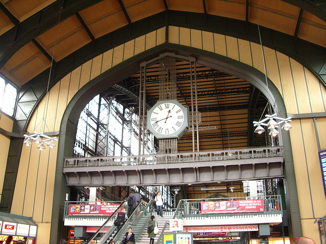 Hamburg - Central station