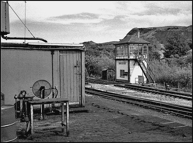 Signal Box, Embsay and Bolton Abbey Steam Railway.