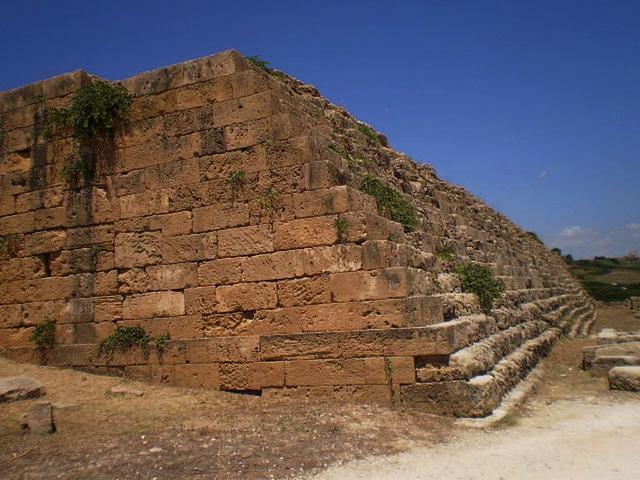 Acropolis' walls.