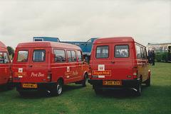 Royal Mail Post Buses at Showbus - 26 Sep 1993
