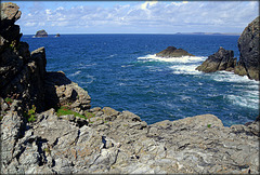 Man and His Man from St Agnes' Head