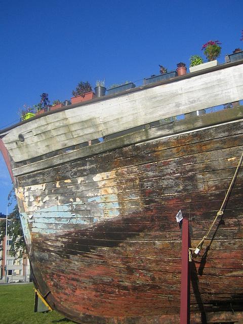 L'énigme du vieux bateau...