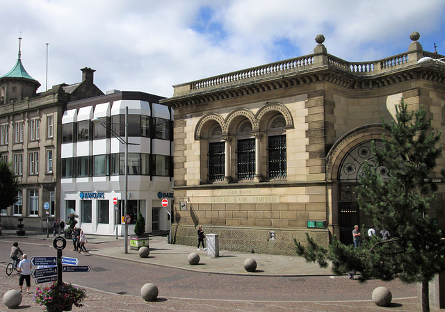 The old bank (& a newer one)