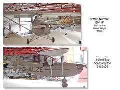 Solent Sky Britten Norman BN 1F 8 8 2005