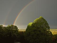 Rainbow over Icking