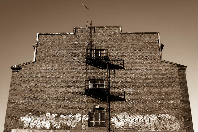 old factory wall