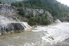 Indian Creek in flood, II