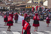 Retrato en el desfile: Cuzco, Peru