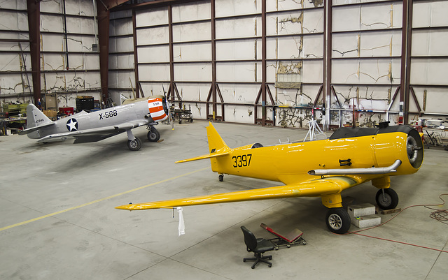 North American T-6G and North American BT-14A