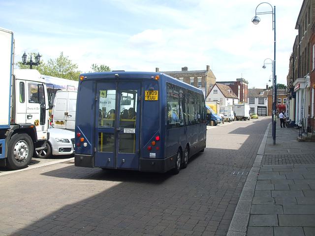 DSCF9548 HACT (Huntingdonshire Association for Community Transport) YX09 EUU
