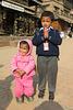 Pose à Bhaktapur (Népal)