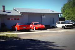 Porsche and Corvette