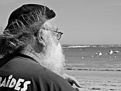 le père Noel qui avait jamais vu la mer