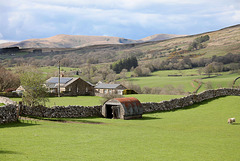 Corrugated iron in the Dales