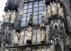 DE - Aachen - Details am Kaiserdom