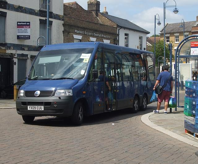 DSCF9547 HACT (Huntingdonshire Association for Community Transport) YX09 EUU2)