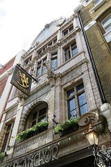 fox and anchor pub, charterhouse st, london