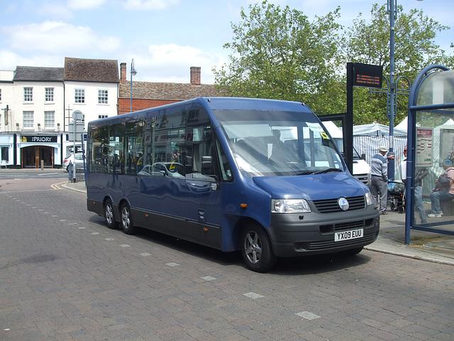 DSCF9545 HACT (Huntingdonshire Association for Community Transport) YX09 EUU