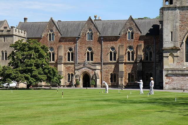 Croquet at Bishops Palace