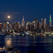 The Moonlight over.......... Manhattan