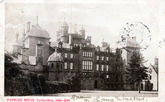Panmure House, Angus, Scotland (Demolished 1955)