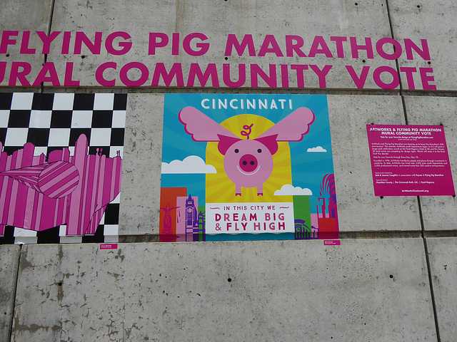 Flying Pig Community Art contest