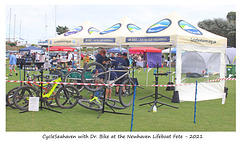CycleSeahaven RNLI fete Newhaven 11 9 2021