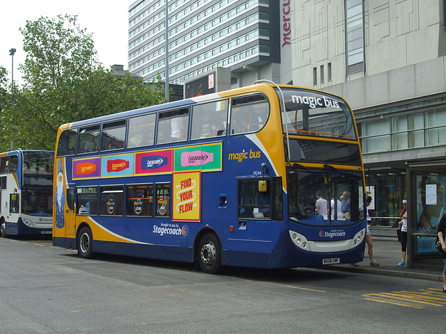 DSCF0651 Stagecoach in Manchester (Magic Bus) MX08 GMF