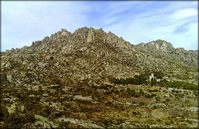 Granite and monastery
