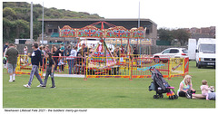 Toddlers' merry-go-round RNLI fete Newhaven 11 9 2021