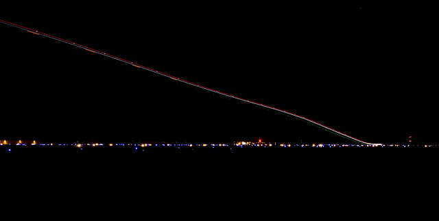 Nighttime Departure