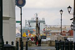 Portsmouth Dockyard from Old Portsmouth