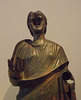 Detail of a Portrait Statue of Julia Aquilia Severa in the National Archaeological Museum of Athens, May 2014