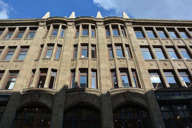 Streit's Hof - Die Fassade in der Poststraße