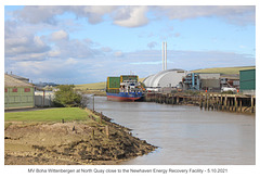Boha Wittenbergen & Newhaven Energy Recovery Facility North Quay Newhaven 5 10 2021