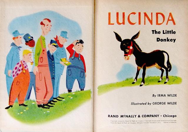 Lucinda, The Little Donkey