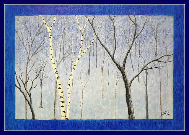 Un bois dans la neige (2005)