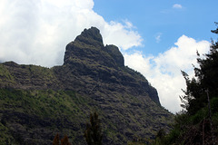 Peak in Cirque de Cilaos