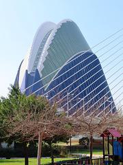 Valencia:  edificio el Ágora