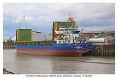 Boha Wittenbergen - North Quay - Newhaven - 5 10 2021