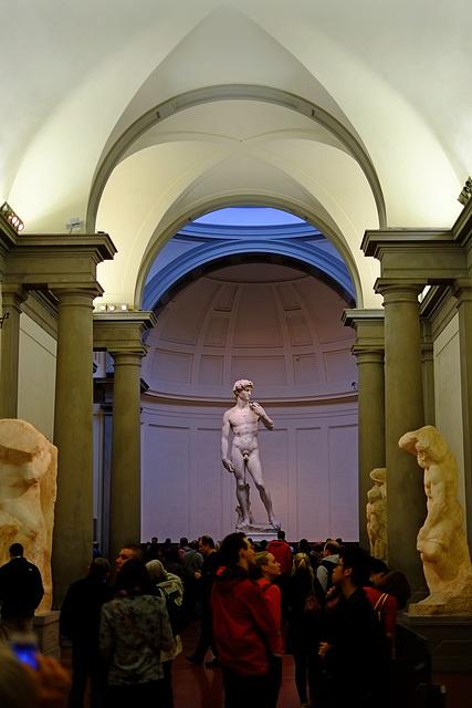 Florence Galleria dell Accademia 1 David XPro1