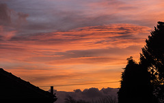Whirlow sunset