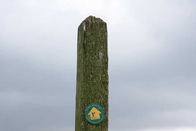 Cown Edge Way sign