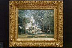 """""""Le moulin de Saint-Nicolas-lez-Arras"""" (Camille Corot - 1874)"""