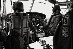 "Flight with Bell UH-1 Iroquois. ""Huey"""