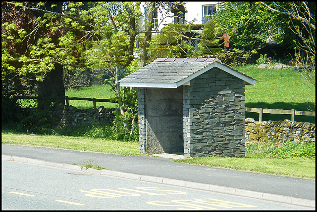Lakes bus shelter