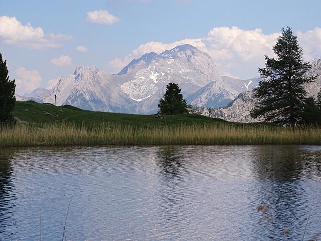 ...le Lac Bleu...